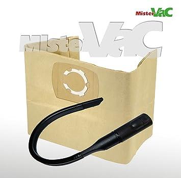 10 x Bolsas de aspiradora + Flex Boquilla Adecuado Bosch PAS 11 - 21: Amazon.es: Hogar