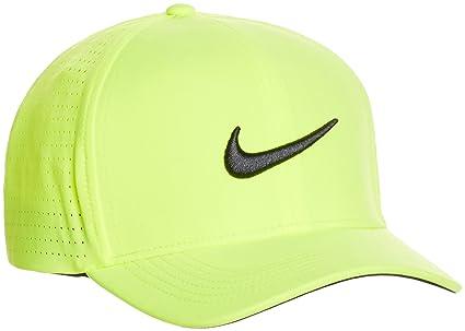 Nike Golf Classic99 Perf - Gorra para Hombre, Color Amarillo, Talla M/L
