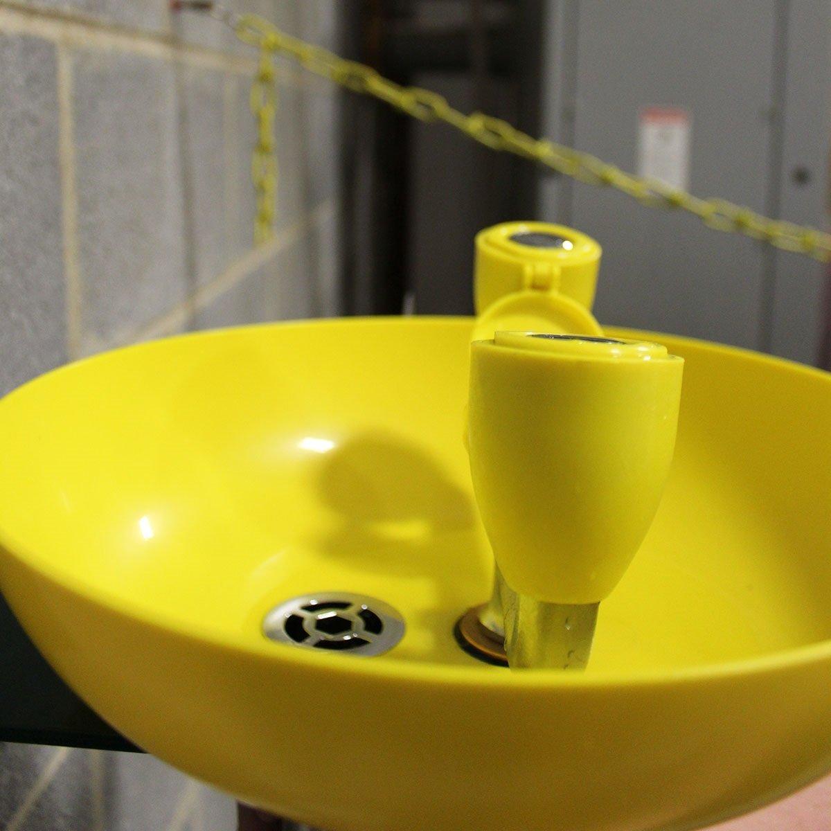 Speakman Traditional Series SE-580 Wall Mounted Eyewash with Plastic Bowl by Speakman (Image #2)