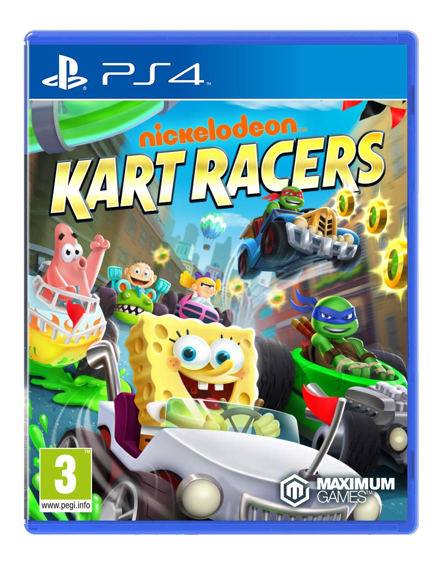 b5b99d58f Nickelodeon Kart Racers (PS4): Amazon.co.uk: PC & Video Games