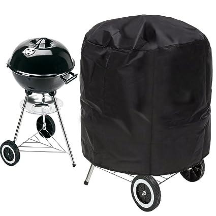 Barbecue Grillabdeckung Abdeckhaube Schutzhülle BBQ Cover Rund Wasserdicht