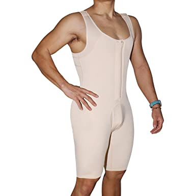 5e06e5052a892 Amazon.com  Queenral Bodysuit Men Shapewear Full Body Shapers Slimming Plus  Size Open Crotch  Clothing