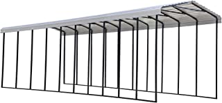 product image for Arrow Shed 14' x 47' x 14' 29-Gauge Metal RV Carport and Multi-Use Shelter for Large Vehicles, 14' x 47' x 14', Eggshell