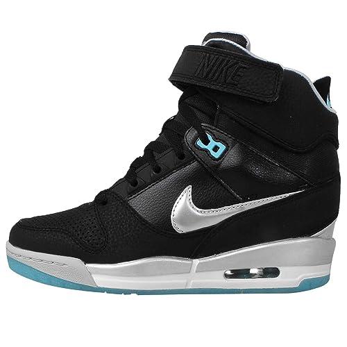 buy online 1174e 72c45 Nike Air Revolution Sky Hi Black Silver Nero, Multicolore (Multicolore),  41  Amazon.it  Scarpe e borse