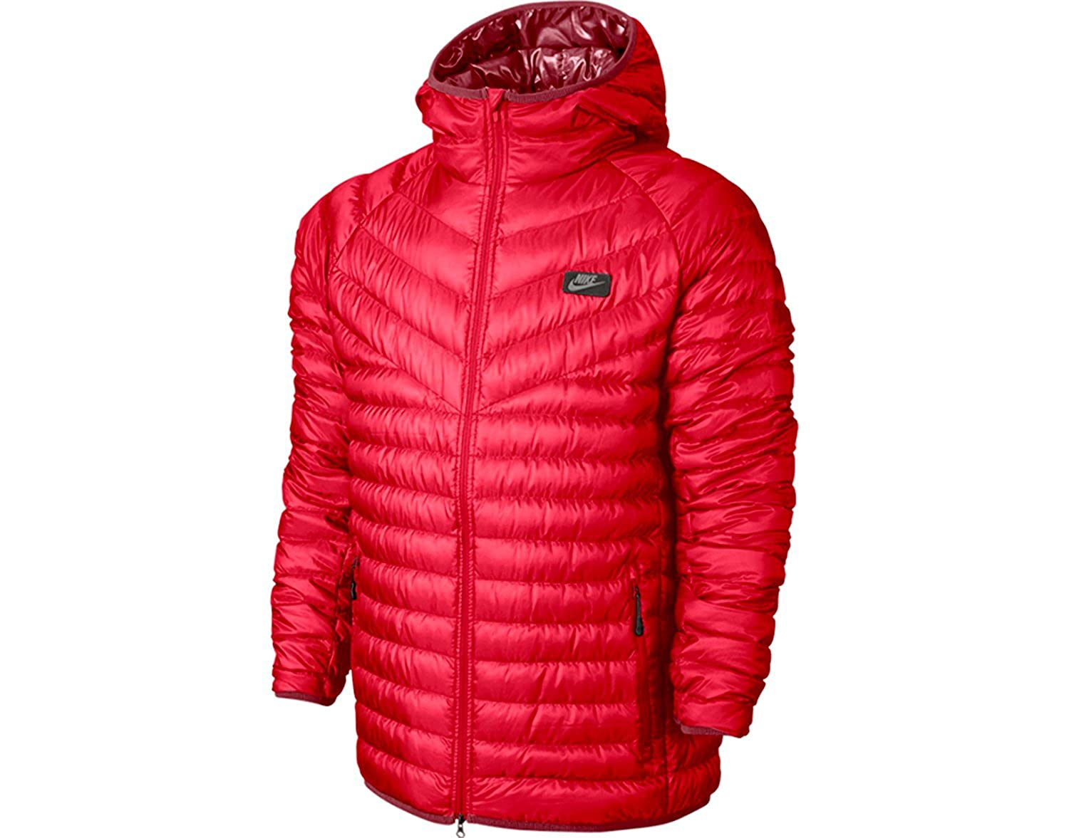 e43697b02a77 Nike Men s Guild 550 Down Hooded Jacket Lightweight Packable (S)   Amazon.ca  Sports   Outdoors