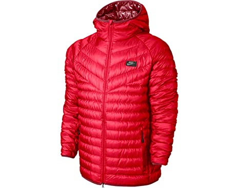 7e6de1895d7b2 Nike Men's Guild 550 Down Hooded Jacket Lightweight Packable (S ...