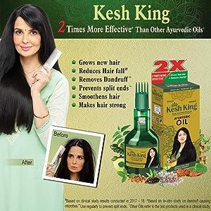 Kesh King Ayurvedic Medicinal Oil, 100ml