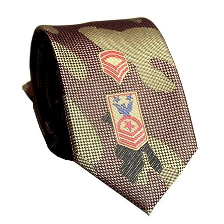 YYB-Tie Corbata Moda Estampado de Camuflaje Jacquard para Hombre ...