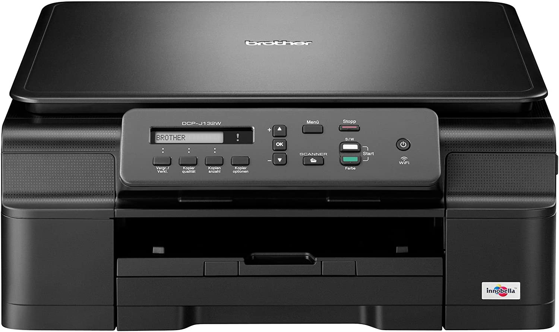 Brother DCP-J132W - Impresora multifunción de tinta: Amazon.es ...