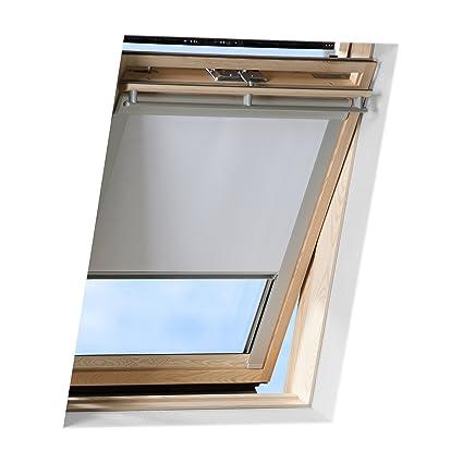 Jalousien Für Velux Dachfenster.Victoria M Dachfensterrollo Passend Für Velux Dachfenster Verdunkelndes Rollo Ggu C04 Weiss