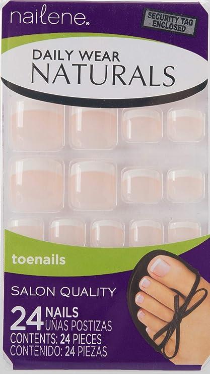 Nailene Daily Wear Naturals - para uñas de los pies - rosa ...