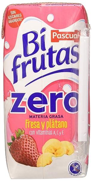 Bifrutas - Fresa Plátano Prisma - 6 x 200 ml, Total 1200 ml ...