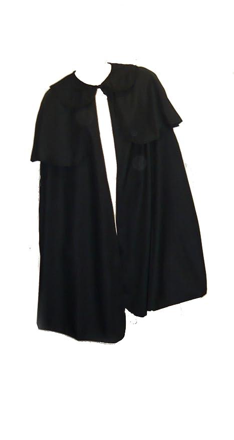 Steampunk Clothing- Men's Dickens Cape Victorian Mens Cape Sherlock Holmes Cape 0120 Select Color $45.88 AT vintagedancer.com