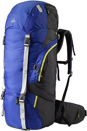 McKinley mochila de senderismo Maple 65 + 10 (color: azul): Amazon.es: Deportes y aire libre