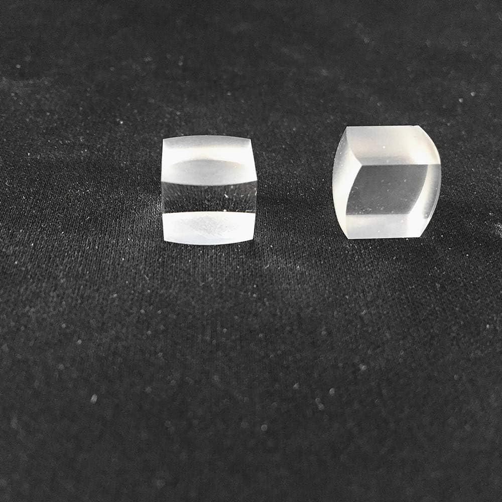 1pc Optical K9 Square Prism Lenticular Lens Prism Glass Experimental Equipment no logo WSF-Prism