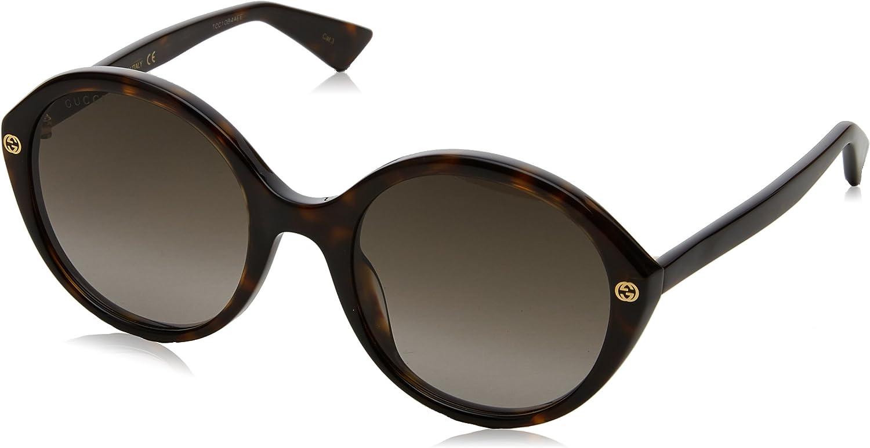 TALLA 55. Gucci GG0023S, Gafas de Sol para Mujer