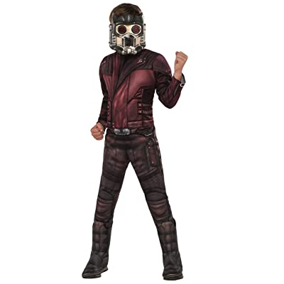 Rubie's Marvel Avengers: Endgame Child's Deluxe Star-Lord Costume & Mask, Small: Toys & Games