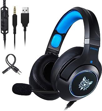 ONIKUMA auriculares para juegos, 7.1 sonidos envolventes ...