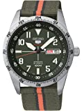 Seiko  Automatic - Reloj de automático para hombre, con correa de tela, color verde