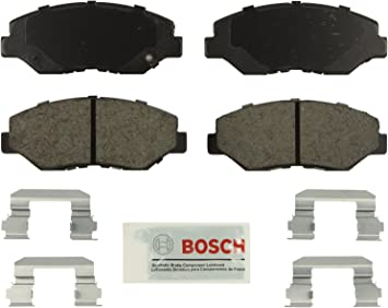 Disc Brake Pad Set-Ceramic Pad Kit with hardware Front fits 2003 Honda Pilot