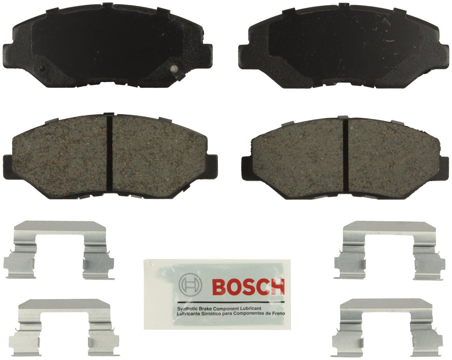 Bosch BE943H Blue Disc Brake Pad Set with Hardware