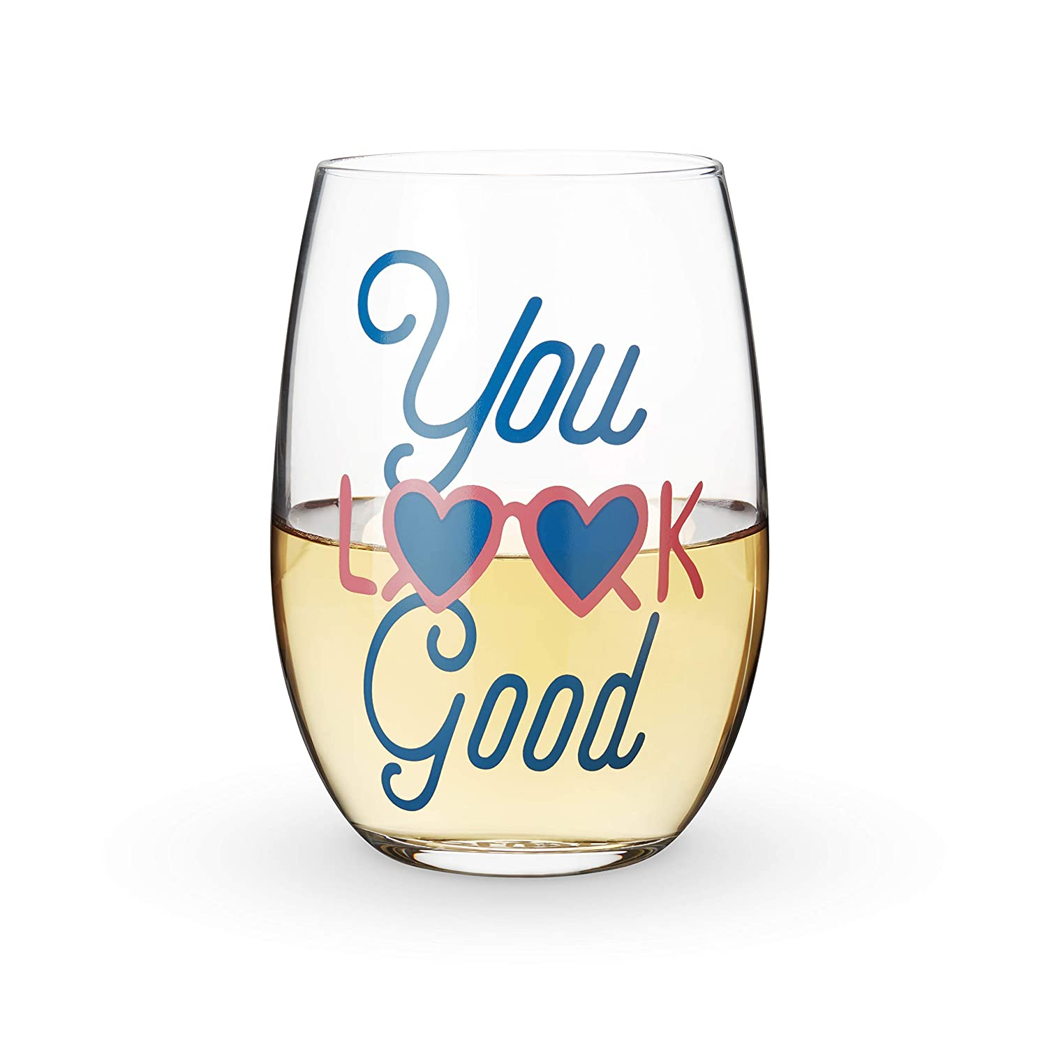 Blush 8262 You Look Good Stemless Wine Glass One