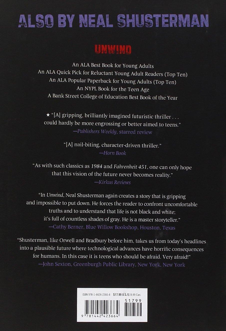 Unwholly (unwind Trilogy): Amazon: Neal Shusterman: 9781442423664:  Books