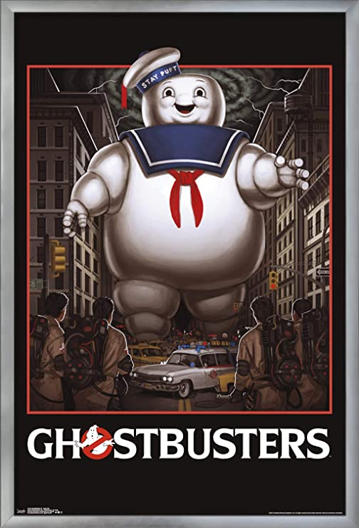 Giclee CANVAS Wall Art Print *Choose your size GHOSTBUSTERS 1984