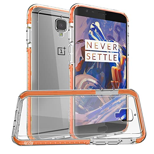 98 opinioni per Orzly®- OnePlus 3- Fusion Bumper Cover per Oneplus 3 / OnePlus THREE ( 2016 )-