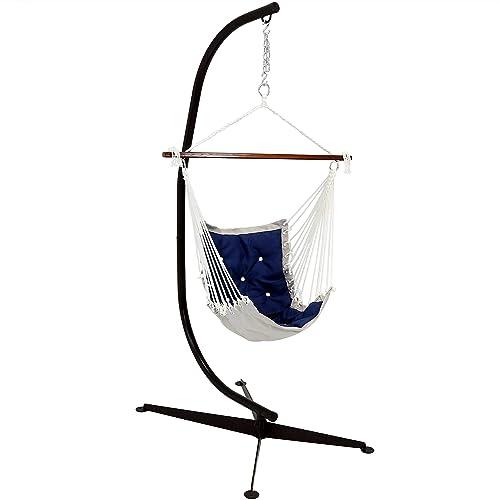Sunnydaze Tufted Victorian Hammock Swing