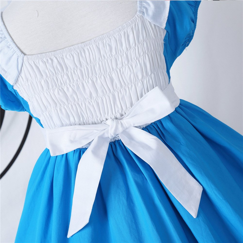 JiaDuo Little Girls Princess Alice Dress Up Cotton Halloween Costumes 100 by JiaDuo (Image #3)