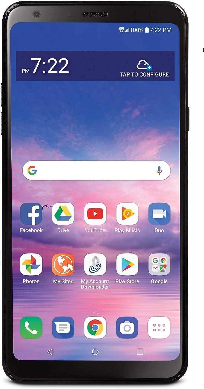 Total Wireless Carrier-Locked LG Stylo 5 4G LTE Prepaid Smartphone - Black - 32GB - Sim Card Included - CDMA (TWLGL722DCP)