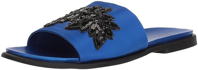 18ef5001c Amazon.com  Kenneth Cole REACTION Women s Jel-OUS Embellished Slip on Slide  Sandal  Shoes