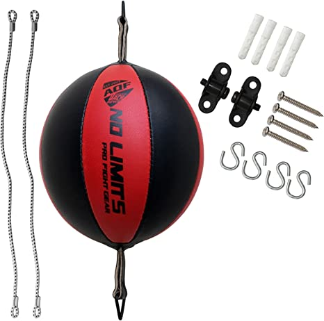 Speed Ball Boxing Punch Bag Training Leather Dodge Ceiling Single End Punch Ball