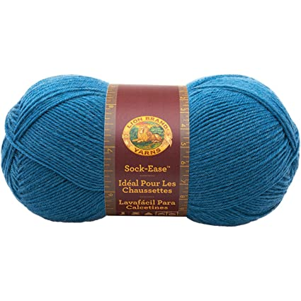Lion Brand Yarn 240-178G Sock-Ease Yarn, Snow Cone