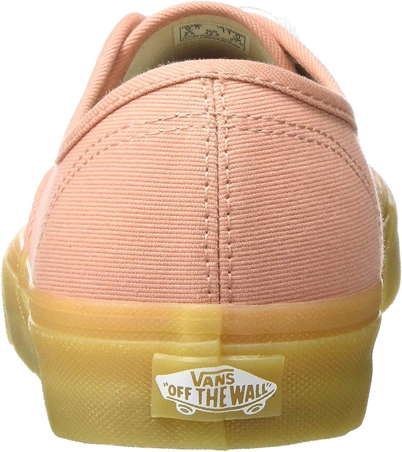 Vans Authentic, Baskets Mode Homme Argile Mute Bloc De Gomme
