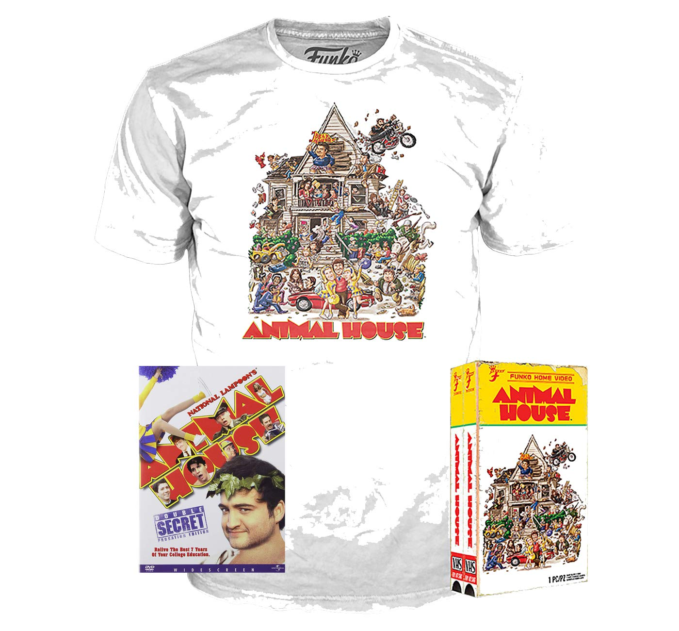 Animal House Movie Delta House Adult T Shirt Classic