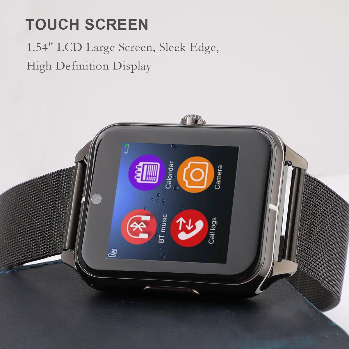 Amazon.com: Reloj inteligente Collasaro a prueba de sudor ...