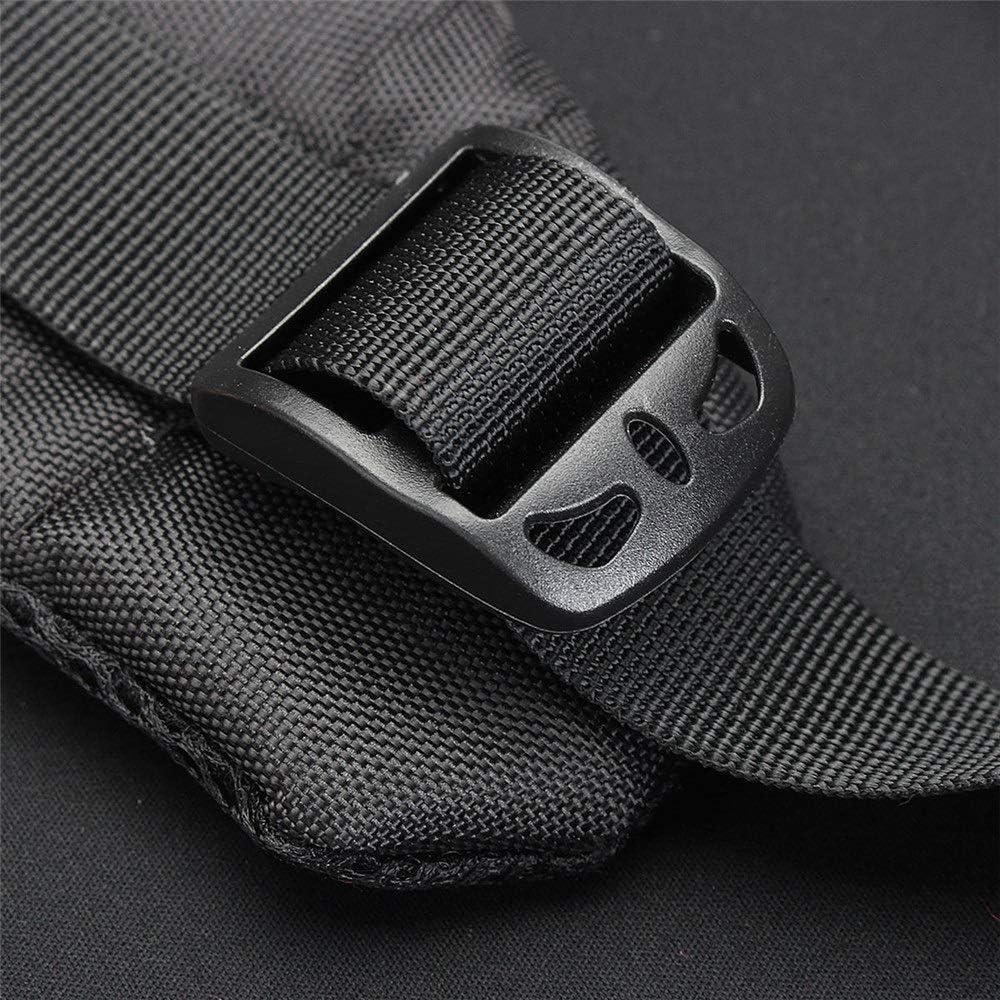 Camera Sling Bag Multi-Function Waterproof Shoulder Bag Backpack Rucksack with Reflective Stripe for DSLR Camera with Reflective Stripe Color : Red, Size : One Size