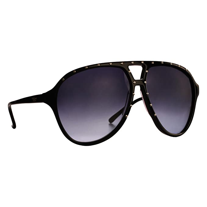 BRIGADA - Gafas de sol - para hombre Negro Negro/plateado ...