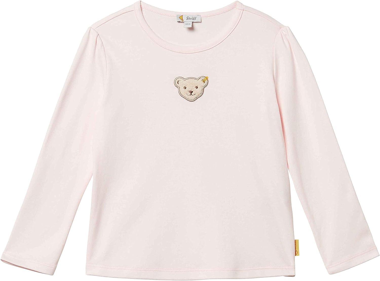 Steiff Baby-M/ädchen T-Shirt langarm Langarmshirt