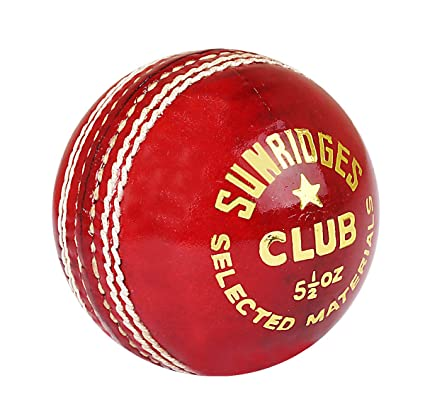 SS Club Cricket Ball, Red: Amazon.in: Sports, Fitness & Outdoors
