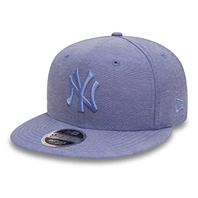 Gorra 9FIFTY Oxford MLB New York Yankees de New Era - Azul: Amazon ...