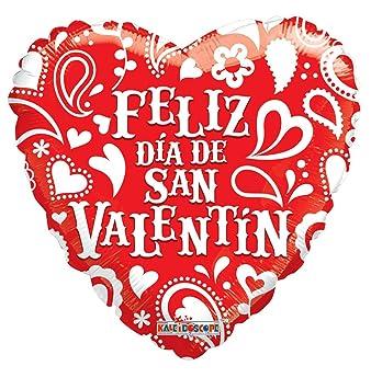 Spanish Happy Valentineu0027s Day 18u0026quot; Mylar Balloon ...