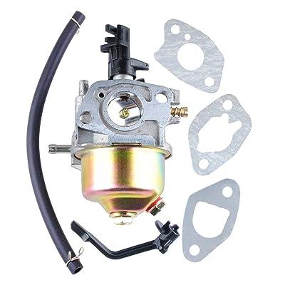 46561 Carburetor for Champion Power Equipment 3500 4000 Watts Gas Generator with Gaskets Replace 46558 46596, 46533, 46534, 46535, 46539, 46540, 46551, 46553, 3500 4000 Watts Carburetor: Garden & Outdoor