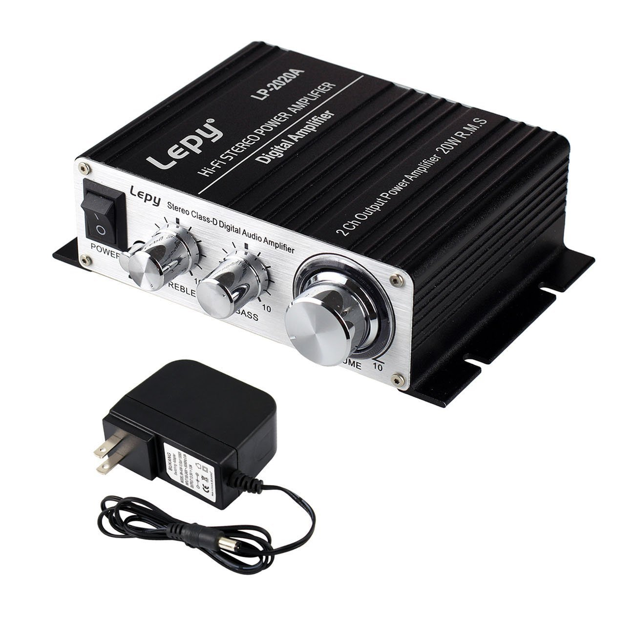 Lepy LP-2020A Power Amplifier Stereo HiFi Digital Audio Car Auto Motor Amp