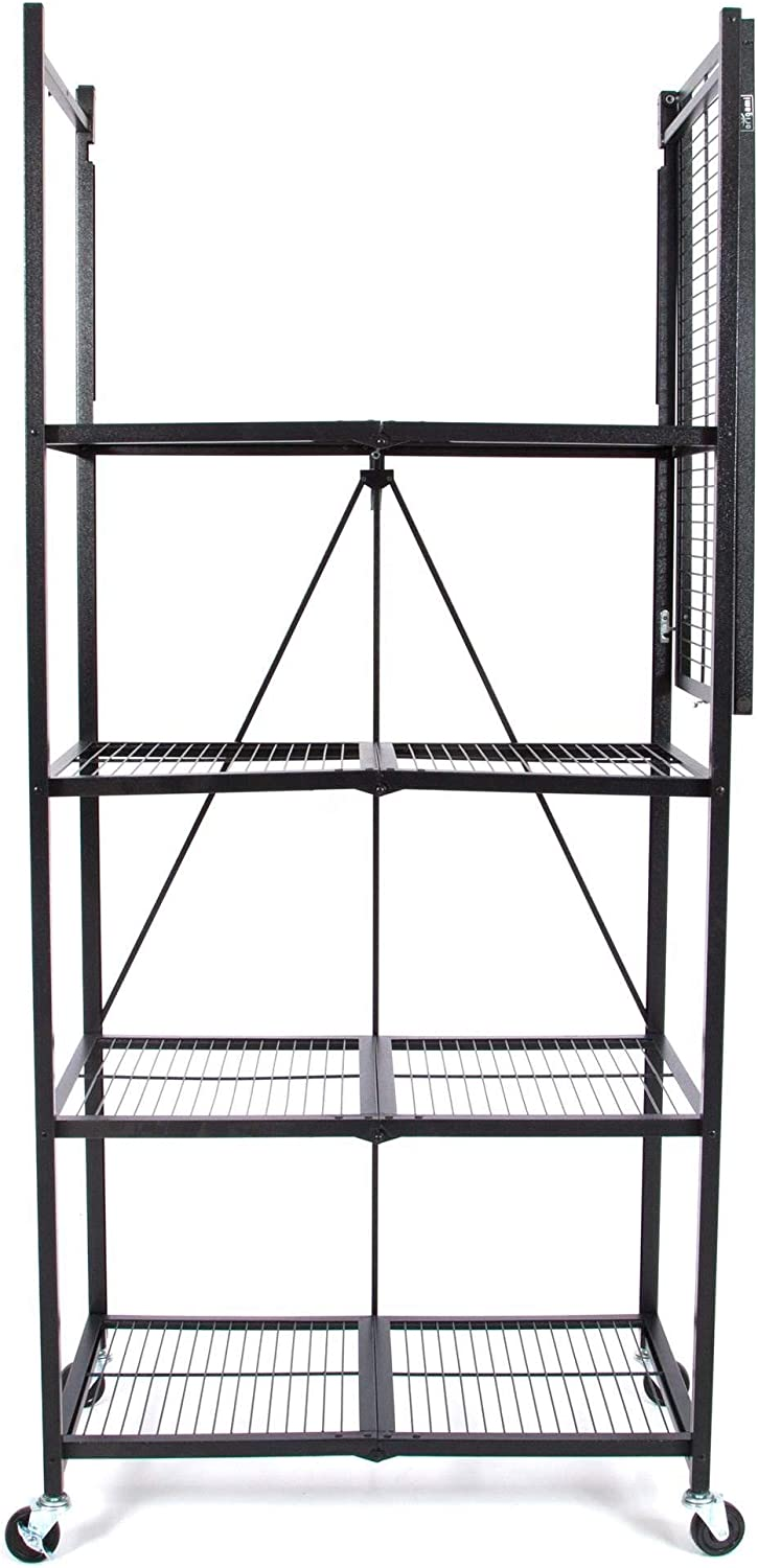 Amazon.com: Origami Extra Large Wheeled 5-Shelf Folding ...