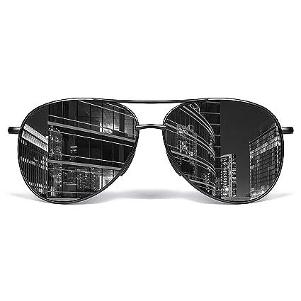 d36ded5b6f Aviator Sunglasses for Men Polarized Women-MXNX UV Protection Lightweight  Al Mg Driving Fishing Sports