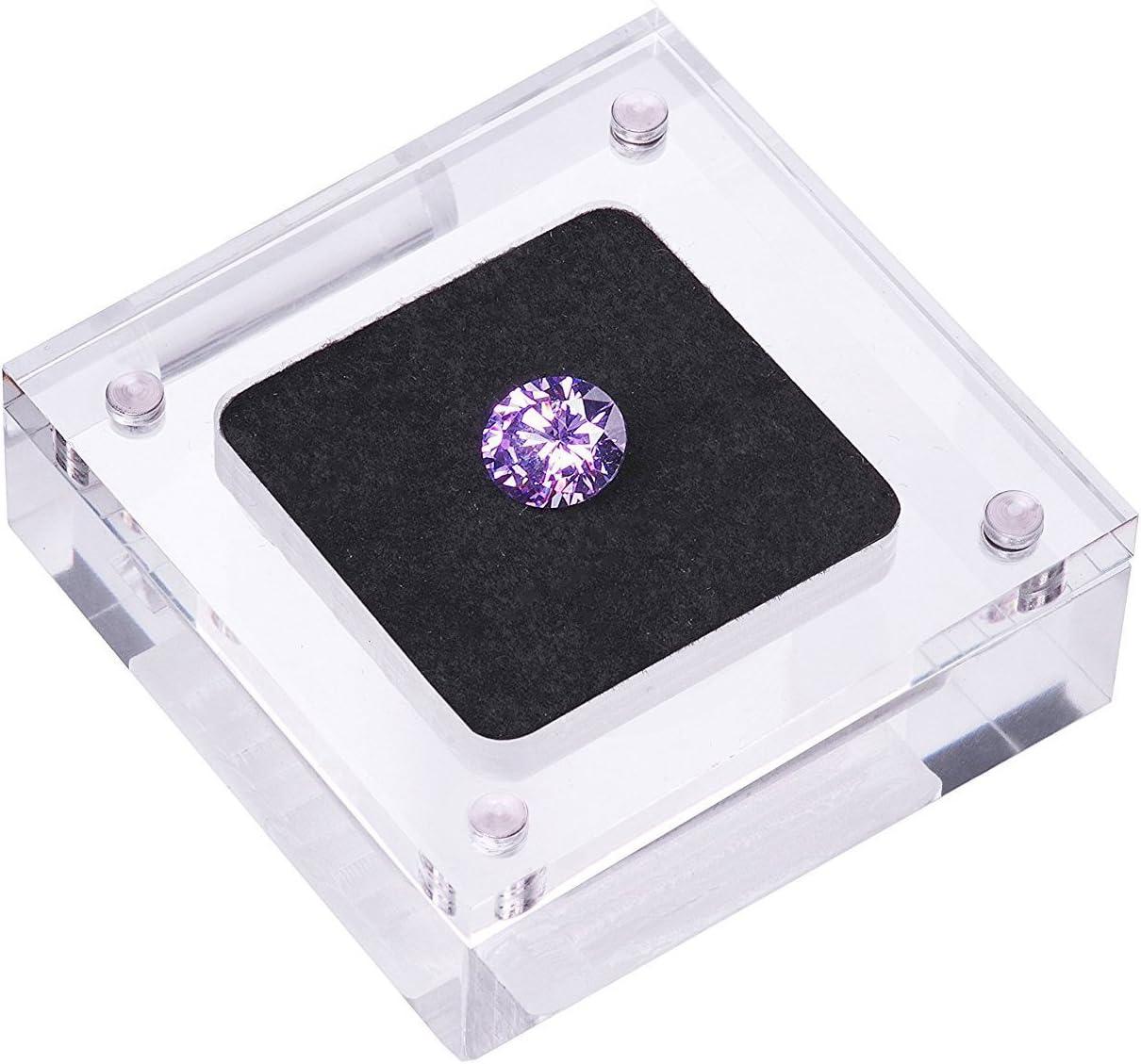 Diamant Displayständer Acryl Halten Edelstein Schaukasten Sale Schmuck
