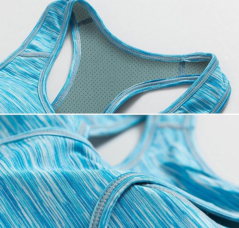 YiJeee Femme Soutien-Gorge de Sport Lingerie Brassière Sport Push Up Bra  Courir Vest pour Fitness Jogging Yoga Course  Amazon.fr  Vêtements et  accessoires c60137c6144